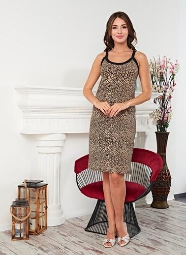 Real Passione Desenli Elbise Renkli
